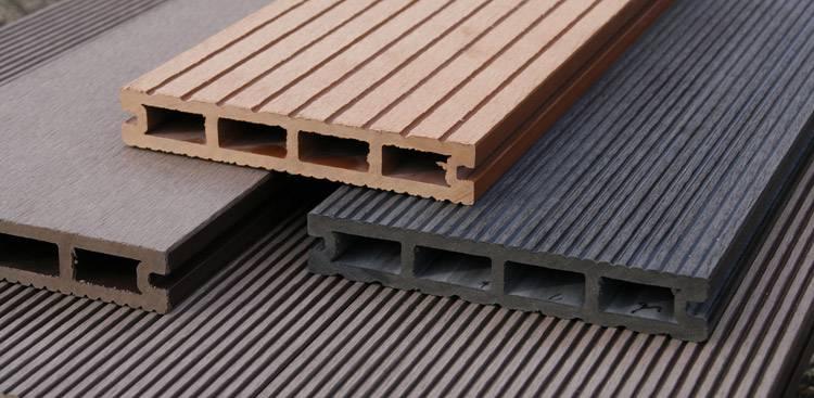 Kunststof planken tuin